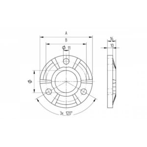 fabricationsupplies-base-plate for-hand-rail-tube-FS-BP316-42-spec